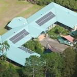 Samford Corporate Solar PV Aerial 1
