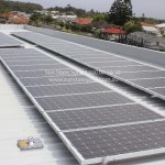 Installation as part of the former National Schools Solar Program