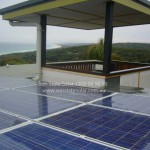 2kW system installed at a holiday house on Stradbroke Island, Qld