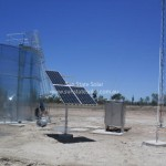 Remote solar PV data telemetry for mining site